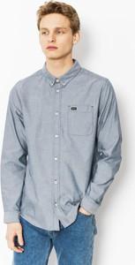 Niebieska koszula RVCA w stylu casual