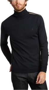 Czarny sweter Faguo w stylu casual