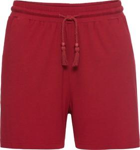 Czerwone szorty bonprix BODYFLIRT w stylu casual