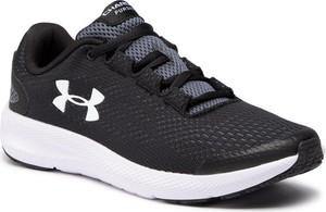 Czarne buty sportowe Under Armour sznurowane