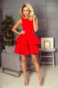 Czerwona sukienka NUMOCO mini
