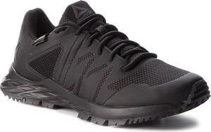 Czarne buty sportowe Reebok sznurowane