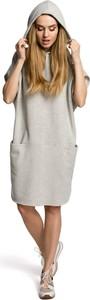 Sukienka Made Of Emotion z długim rękawem w stylu casual