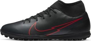 Czarne buty sportowe Nike sznurowane mercurial