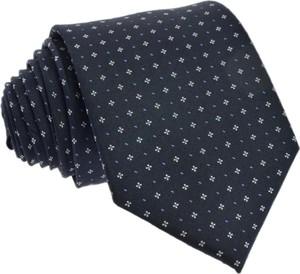 Granatowy krawat Republic of Ties w stylu boho