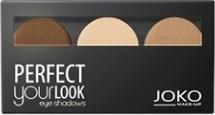 Joko, Make-Up Perfect Your Look, cienie do powiek, trio satin, nr 305