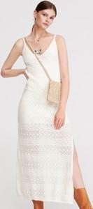 1da0f2e946 dzianinowa sukienka maxi - stylowo i modnie z Allani