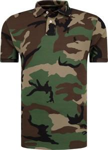 Koszulka polo POLO RALPH LAUREN w militarnym stylu