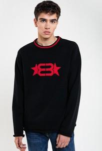 Sweter Big Star z wełny z okrągłym dekoltem