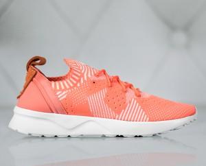 Buty sportowe Adidas sznurowane na koturnie zx flux