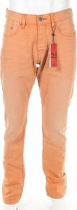 Pomarańczowe jeansy Q/s By S.oliver