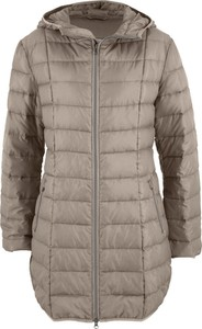 Szary płaszcz bonprix bpc bonprix collection