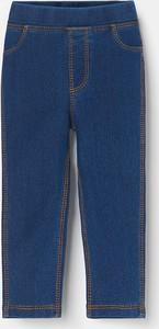 Niebieskie legginsy dziecięce Reserved
