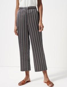Brązowe spodnie someday. w stylu retro