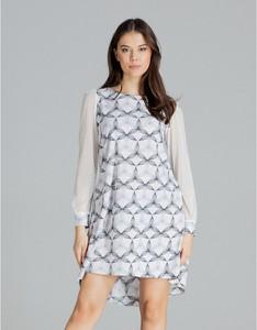 Sukienka LENITIF z długim rękawem mini