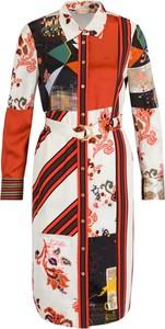 Sukienka Tory Burch z długim rękawem w stylu casual koszulowa
