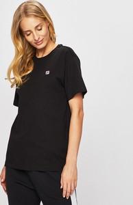 T-shirt Fila z okrągłym dekoltem z krótkim rękawem w sportowym stylu