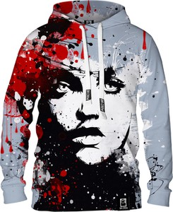 Bluza Dr.Crow Sklep z bawełny w młodzieżowym stylu z nadrukiem