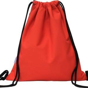 Pomarańczowy plecak Szczypta z bawełny