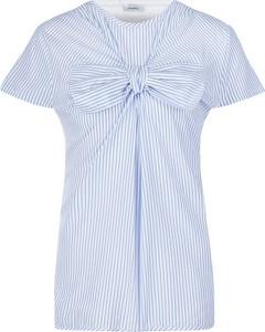 Niebieska bluzka Max & Co. z jedwabiu