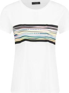 T-shirt Trussardi Jeans z krótkim rękawem w stylu casual z okrągłym dekoltem