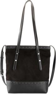 Czarna torebka bonprix w wakacyjnym stylu duża