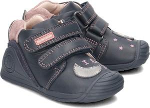 Buty dziecięce zimowe BIOMECANICS ze skóry na rzepy