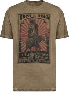T-shirt Kam z bawełny