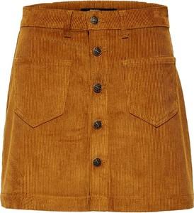 Spódnica Only z bawełny mini w stylu casual