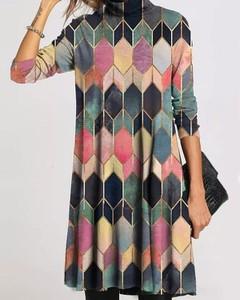 Sukienka Kendallme z długim rękawem mini