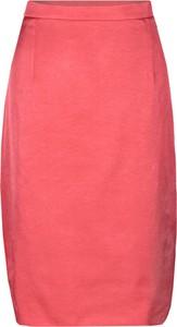 Spódnica Fokus z tkaniny midi