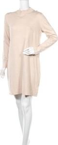 Sukienka Esmara By Heidi Klum mini z okrągłym dekoltem z długim rękawem