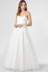 Sukienka Luxuar Fashion gorsetowa z tiulu
