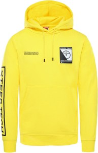Żółta bluza The North Face w sportowym stylu