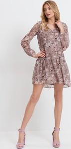 Sukienka Mohito z długim rękawem mini
