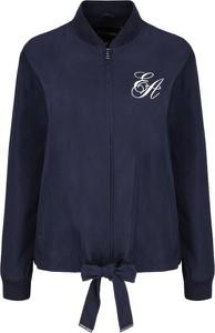 Niebieska kurtka Emporio Armani w stylu casual