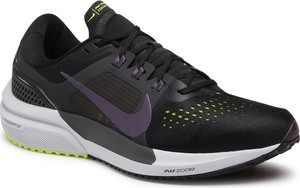 Czarne buty sportowe Nike z płaską podeszwą zoom