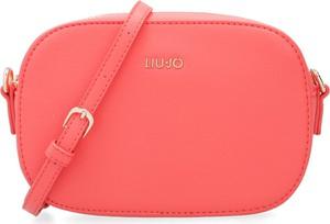 Różowa torebka Liu-Jo mała w stylu casual