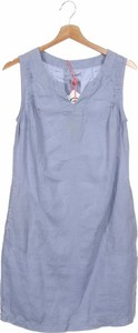 Niebieska sukienka White Stag z okrągłym dekoltem