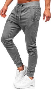 Spodnie sportowe Denley z dresówki