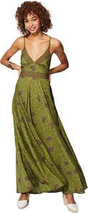 Sukienka Aller Simplement maxi na ramiączkach