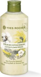 Yves Rocher Kremowy żel pod prysznic Kwiat Bawełny i Mimoza