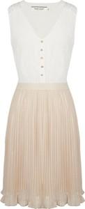Sukienka Naf naf mini z szyfonu bez rękawów