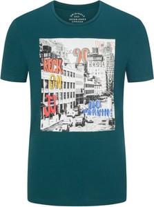 T-shirt Jack & Jones z bawełny z krótkim rękawem w młodzieżowym stylu