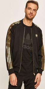 Czarna bluza Adidas Originals z dzianiny
