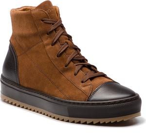Buty zimowe Gino Rossi sznurowane