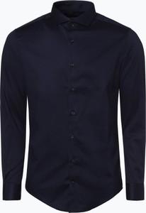 Granatowa koszula Drykorn z długim rękawem