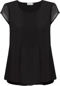 Czarna bluzka Premiera Dona z szyfonu