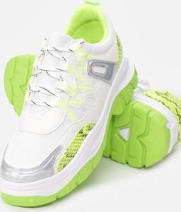Zielone buty sportowe Multu