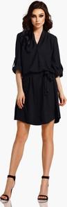 Czarna sukienka Lemoniade koszulowa